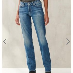 🍀 Lucky Brand Sweet Jean Straight Leg Jeans US 12